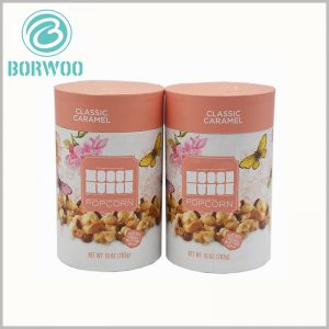 10 oz chocolate packaging boxes wholesale. Fully biodegradable paper tube packaging, the lid is in the form of a flat lid, and the details of packaging manufacturing are also handled well.