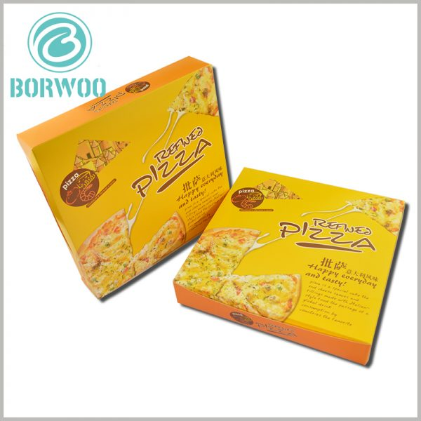 8 inch pizza boxes packaging custom. Custom pizza packaging can print brand or store information, which can play a good role in promoting the brand or store