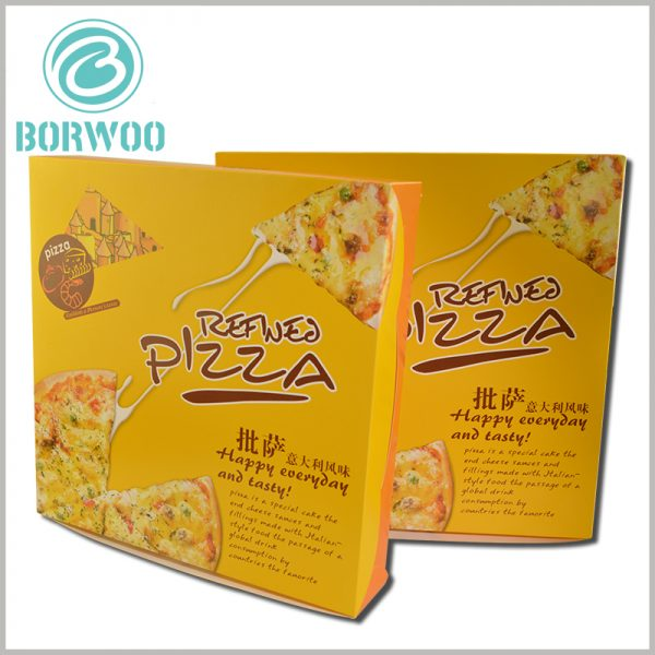 8 inch pizza boxes packaging printable. Custom pizza boxes can print content, reflect the difference between the product and other brands from the packaging, and can promote the differentiation of food.