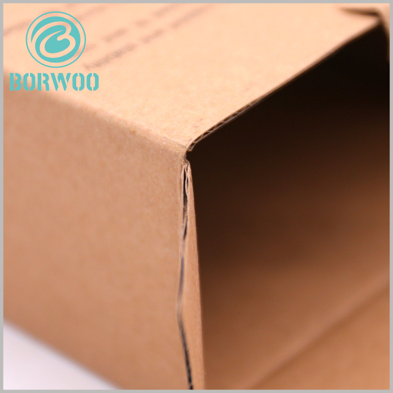 Corrugated sports packaging. Customized corrugated paper packaging has high-quality materials, so that the product packaging has a good display effect.