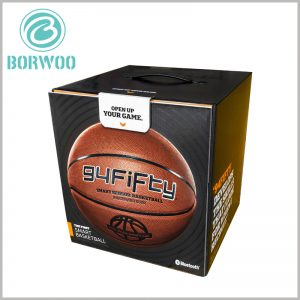 Custom High-end Basketball Packaging boxes. Square basketball packaging boxes can completely seal the product to prevent external dust and other factors from affecting the brand-newness of the product.