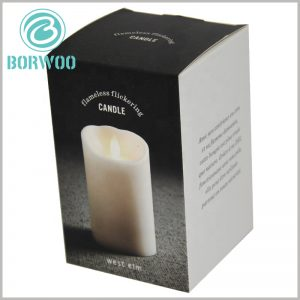 Foldable cheap candle boxes packaging wholesale