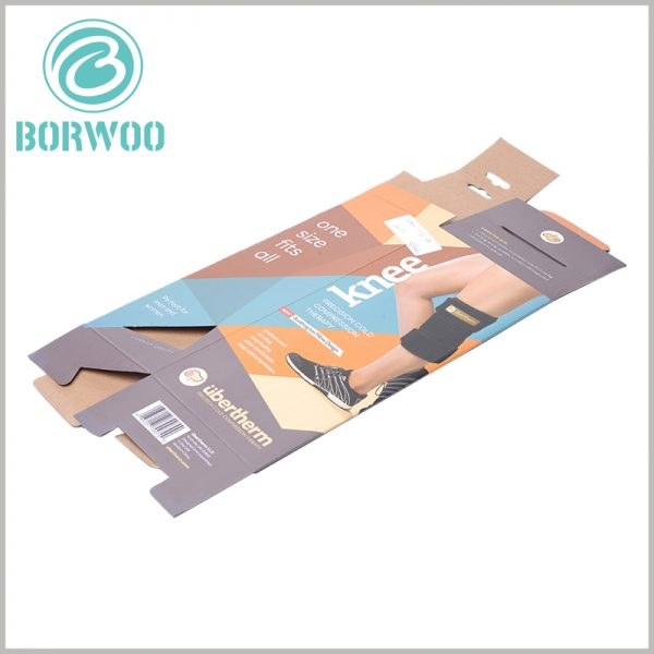 Foldable corrugated packaging boxes. Corrugated packaging is foldable, and sports packaging can greatly reduce the space occupied by the packaging when it is not in use.