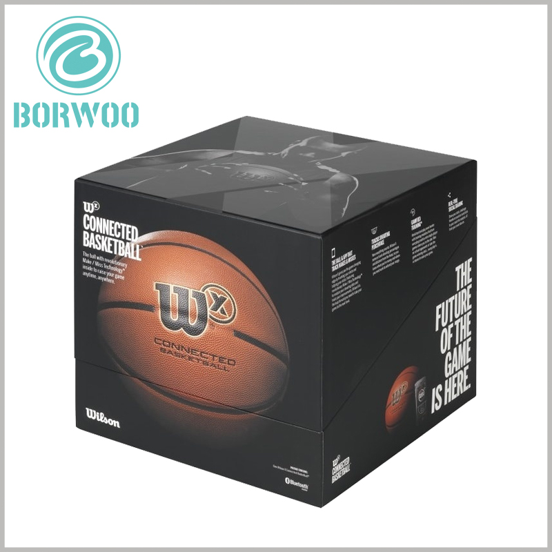 High-end Basketball Packaging boxes wholesale. The unique sports packaging design can distinguish the product from other brands and gain an invisible competitive advantage for the product.