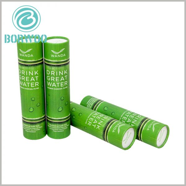 Imitation bamboo paper tube packaging. Creative packaging design integrates brand information and product information, and is one of the most effective ways to promote products and build brands