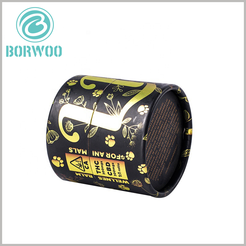 Small cardboard tube for essential oil packaging. CBD essential oil packaging has a unique content design and pattern design, increasing the attractiveness to customers is the key to the success of product marketing.