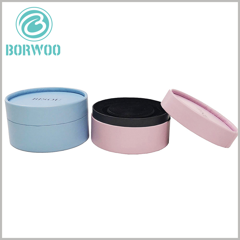 Small jewelry gift boxes wholesale. Customized paper tube packaging can reflect product differentiation and branding through different designs