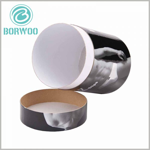black paper tube packaging wholesale. The packaging materials for customized round boxes include kraft paper, white cardboard, and coated paper (the CMYK printed content is used for lamination on the outside of the paper tube).