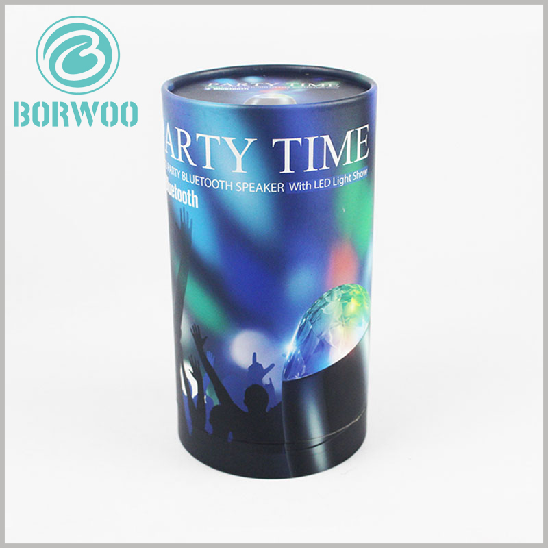 cardboard cylinder packaging for LED rotating light. Product packaging design is closely related to LED revolving lights, and the appearance of the packaging can determine the characteristics of the product.