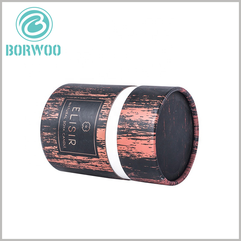 cardboard tube packaging boxes for candles. Aromatherapy candles use creative paper tube packaging design, and can reflect the characteristics of candles, differentiation, and more conducive to product sales.