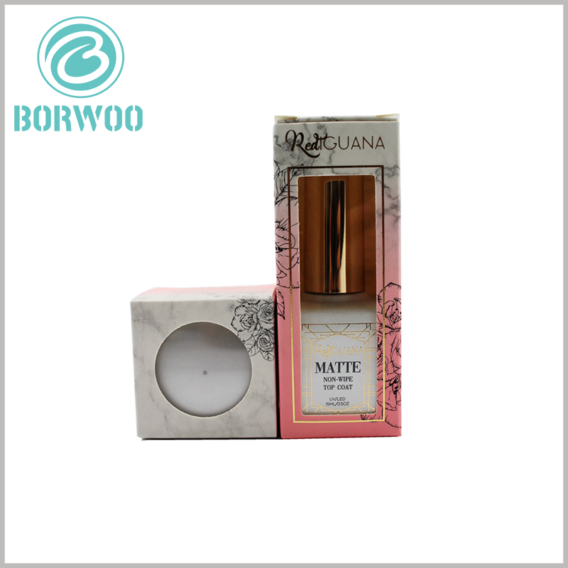 cheap cosmetic packaging box with window. Products are the best way to advertise, and window packaging allows customers to directly see the product style.