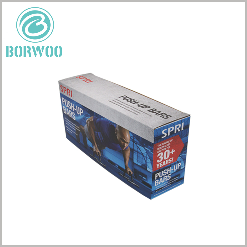 cheap foldable sports packaging for push-up bars
