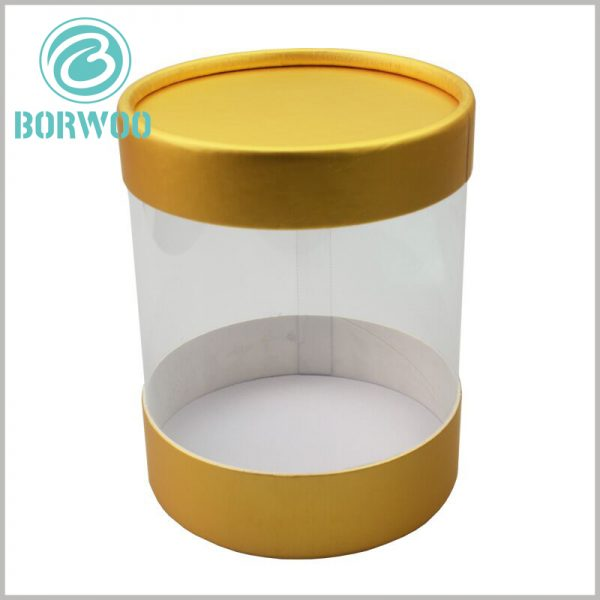 clear plastic tubes with paper caps. The body part of the tube packaging is completely transparent, you can completely see the product style inside the packaging, and increase the customer's trust in the product.