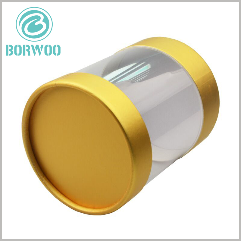 clear plastic tubes packaging with caps. The diameter and height of the customized tube packaging are determined according to the product type and characteristics to ensure that the packaging and the product are completely matched.