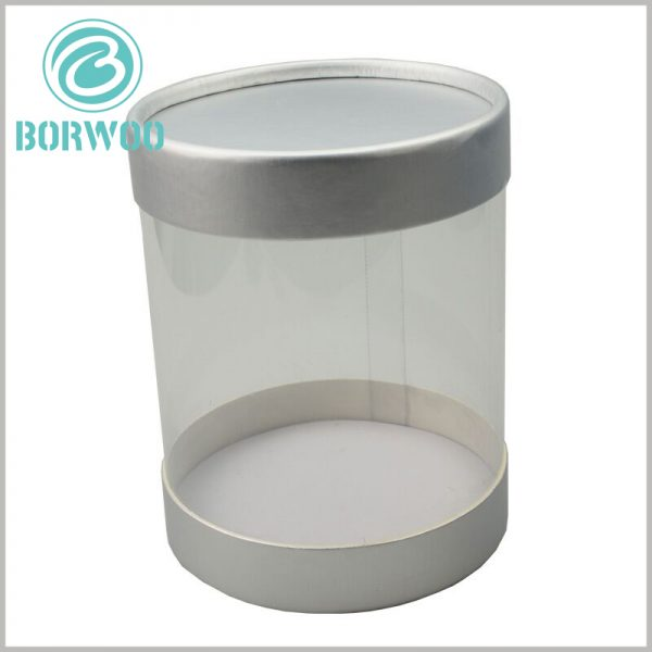 clear round plastic tubes with caps. The rigid clear PVC tube packaging can completely isolate the product from the outside world to maintain the brand newness and value of the product.