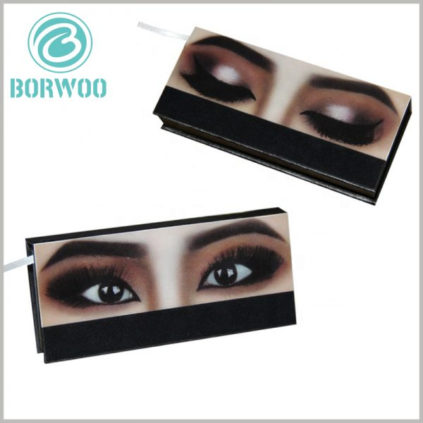 creative empty lash boxes packaging. The packaging design of false eyelashes has a very shocking visual effect, leaving customers with a deep product impression and brand impression.