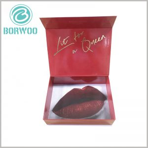 creative lipstick gift boxes. Creative cardboard packaging design can instantly attract customers' attention and make customers feel good about the product and brand.