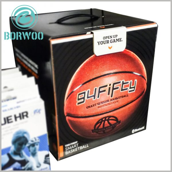 custom Basketball Packaging boxes. Customized packaging design with basketball has a good appearance experience, which is very helpful to attract customers' attention.