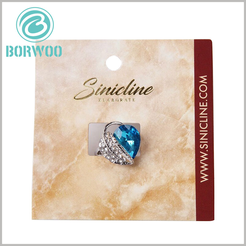 custom creative jewelry hang tags wholesale.Customized jewelry labels have many advantages and can form a good display of products.
