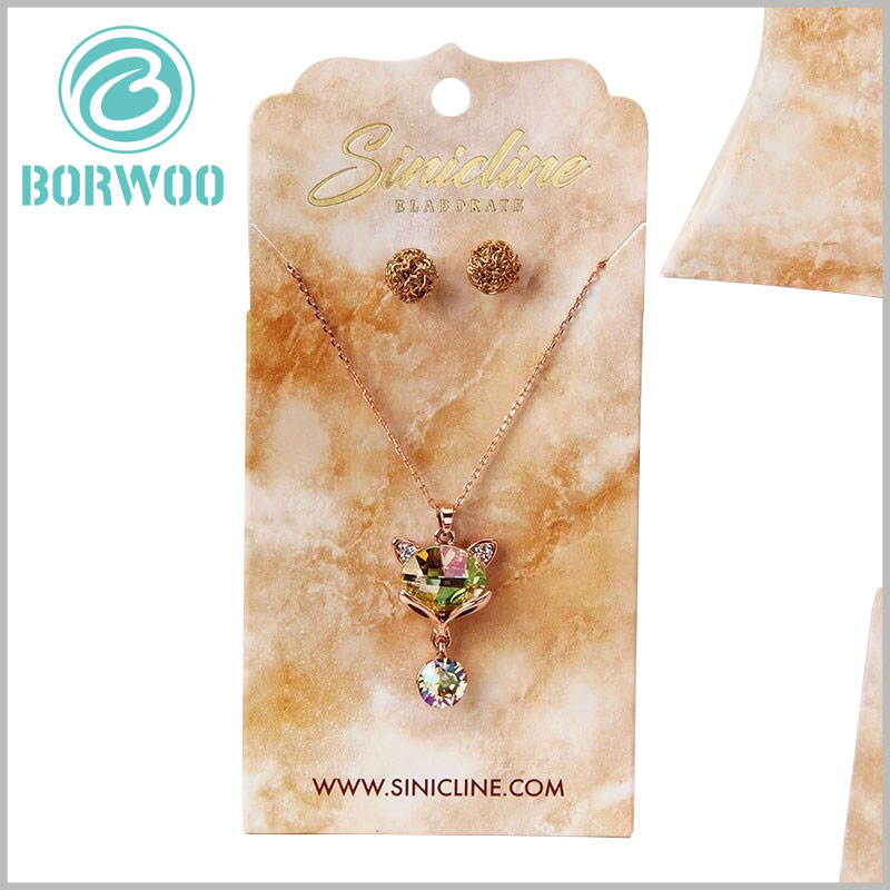 custom creative jewelry hang tags.Customized hangtags have many advantages and can be a good display of jewelry suits.
