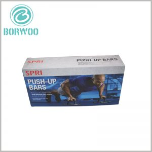 custom foldable sports packaging for push-up bars
