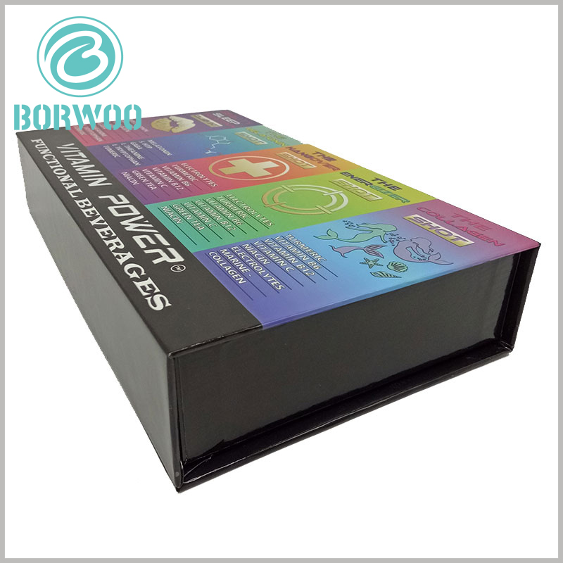 custom food boxes packaging for beverage. Hard cardboard gift boxes have a high load-bearing capacity and can meet the load-bearing requirements of products for packaging.