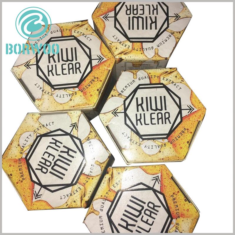custom hexagonal boxes for food packaging. Creative food packaging design, to a large extent, can help products stand out in fierce competition.
