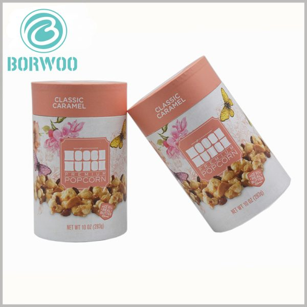 custom paper tube for chocolate packaging. The chocolate gift boxes is sturdy packaging and uses food-grade paper tubes as the packaging form.