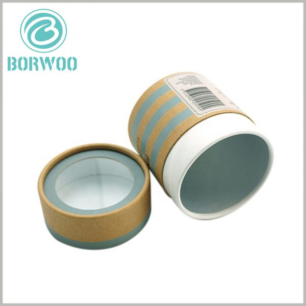 custom paper tube packaging wholesale. The thickness of the paper tube cover is 2mm, which can withstand a certain external pressure.