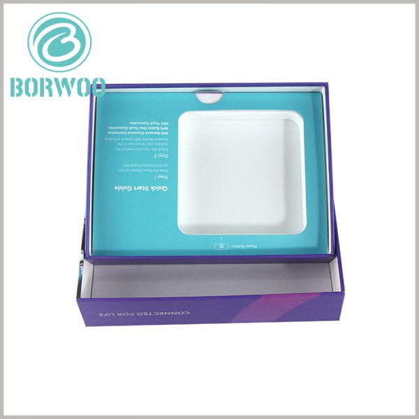 custom printed packaging boxes with insert. Custom packaging design needs to deal with subtle details to improve the appearance of the packaging and the convenience of packaging.