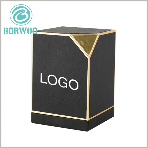 custom small perfume gift boxes with logo. Choosing to print the brand logo in a specific location on the product packaging is a factor that must be considered in the construction of a perfume brand.