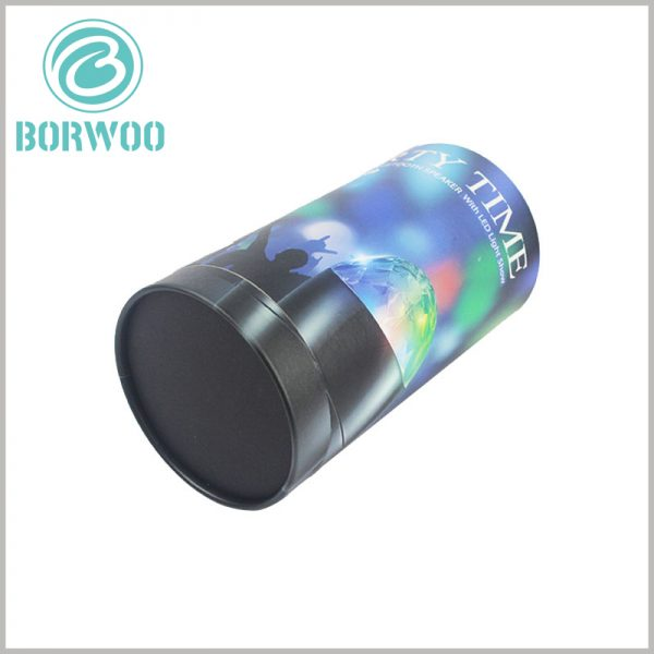 cylinder packaging for LED rotating light. Custom round boxes have unique content, which can integrate the characteristics of LED revolving lights into product design, making it easier for customers to understand products through packaging.