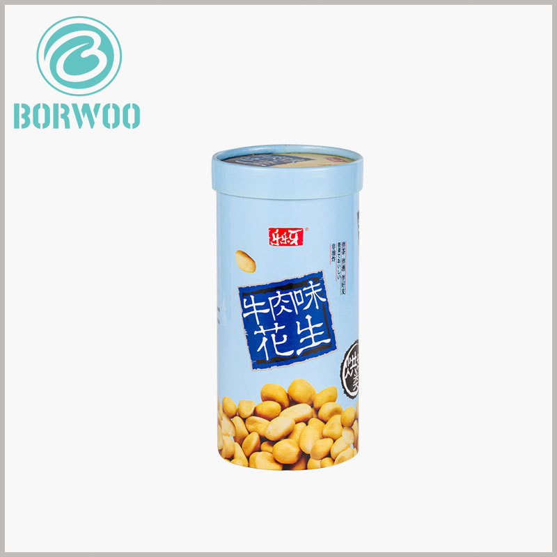 food grade peanut tube packaging. Customized food packaging and printing specific content is necessary, and the characteristics, brand and value of the product can be discovered through the content formed by CMYK printing.