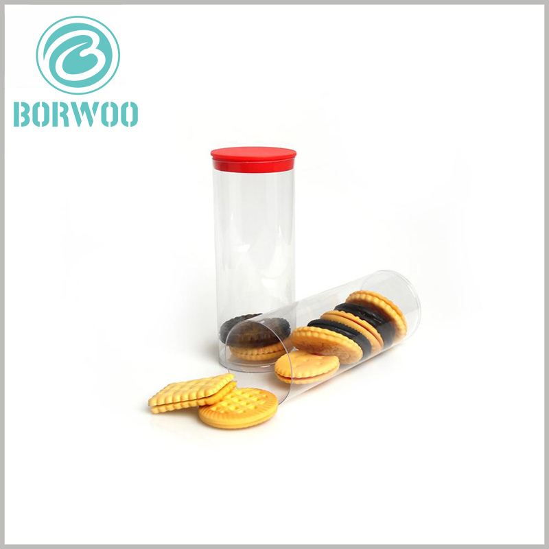 food grade plastic tube packaging wholesale. Transparent packaging allows you to fully see the products inside, which is one of the best ways to display products, which improves the attractiveness of the products.