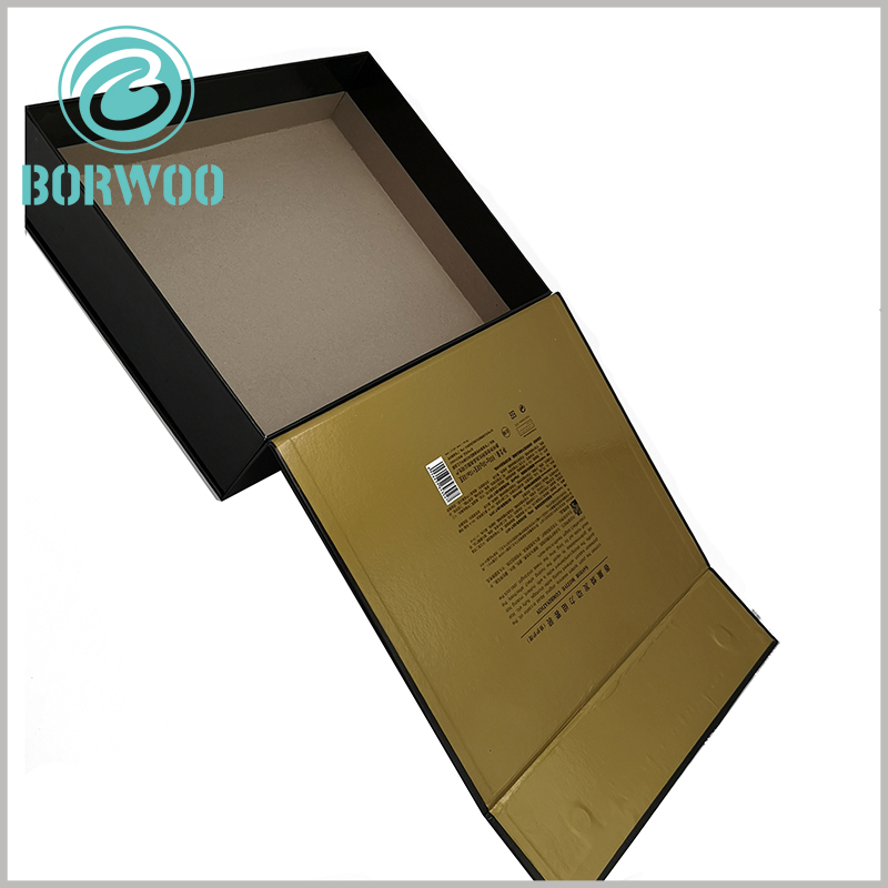 hair care product packaging boxes custom. As one of the raw materials, 1200gsm gray board paper improves the hardness and protective effect of packaging.
