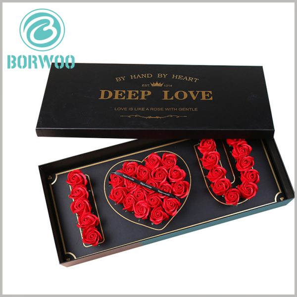 high-end lover flower gift boxes wholesale