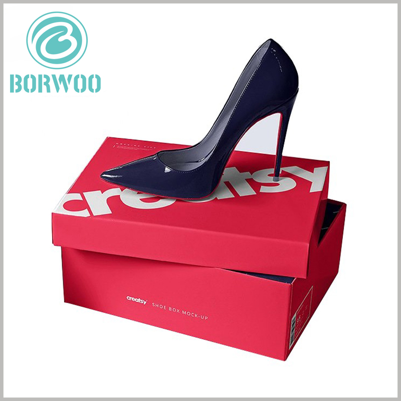 high-heeled shoes packaging box wholesale. Customized packaging boxes have many advantages. For example, the product can be completely packaged to avoid external pollution to the product.