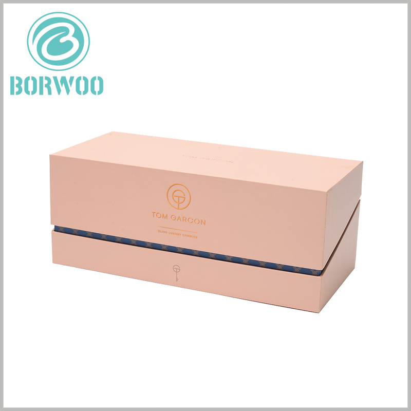 high quality brown kraft candle boxes packaging