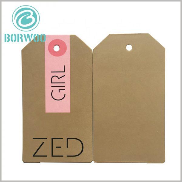 kraft paper hang tags printable