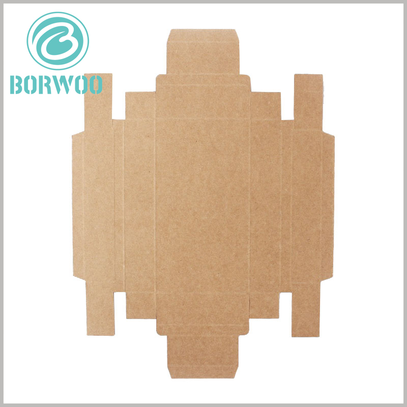 kraft paper packaging template. The packaging plan can help customers more quickly the characteristics of packaging, and help to package design
