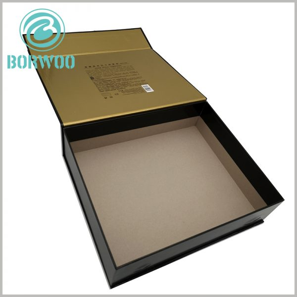 large hair care product packaging boxes. A detailed product description is printed on the inside of the lid of the customized box, which will serve as a product explanation.