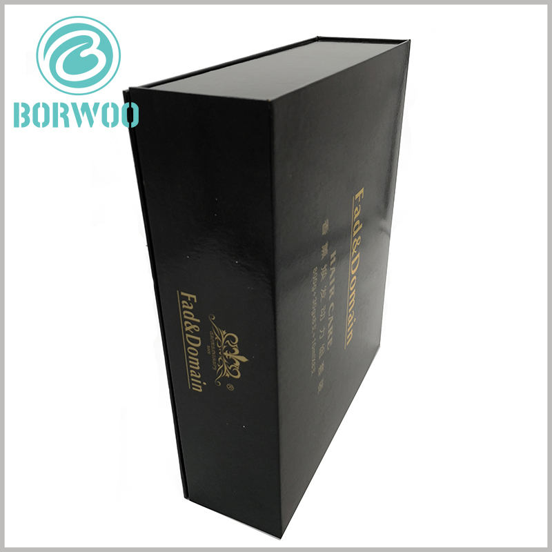 large product packaging boxes wholesale. The rigid cardboard packaging gift box has outstanding sturdiness and load-bearing capacity, and the packaging appearance is exquisite.