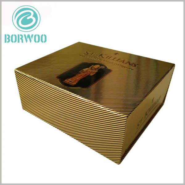 luxury cardboard boxes packaging wholesale.Large candle gift box packaging, customized packaging design has a sense of luxury, allowing customers to feel the high-end and value of the product.