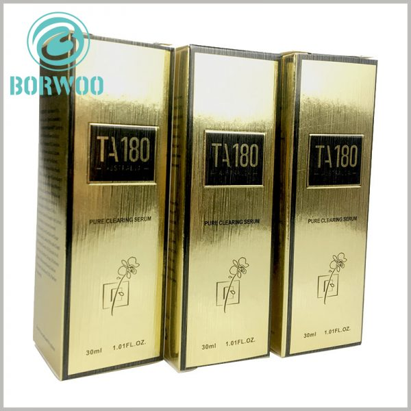 luxury cosmetic packaging boxes. Customized cosmetic packaging can print product and brand-related information, which is of great help to product value enhancement.