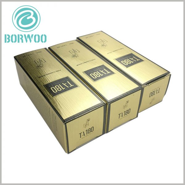 luxury cosmetic packaging boxes with logo. Brand information is one of the most concerned issues for customers. Customers will evaluate the value of products based on cosmetic brand information.