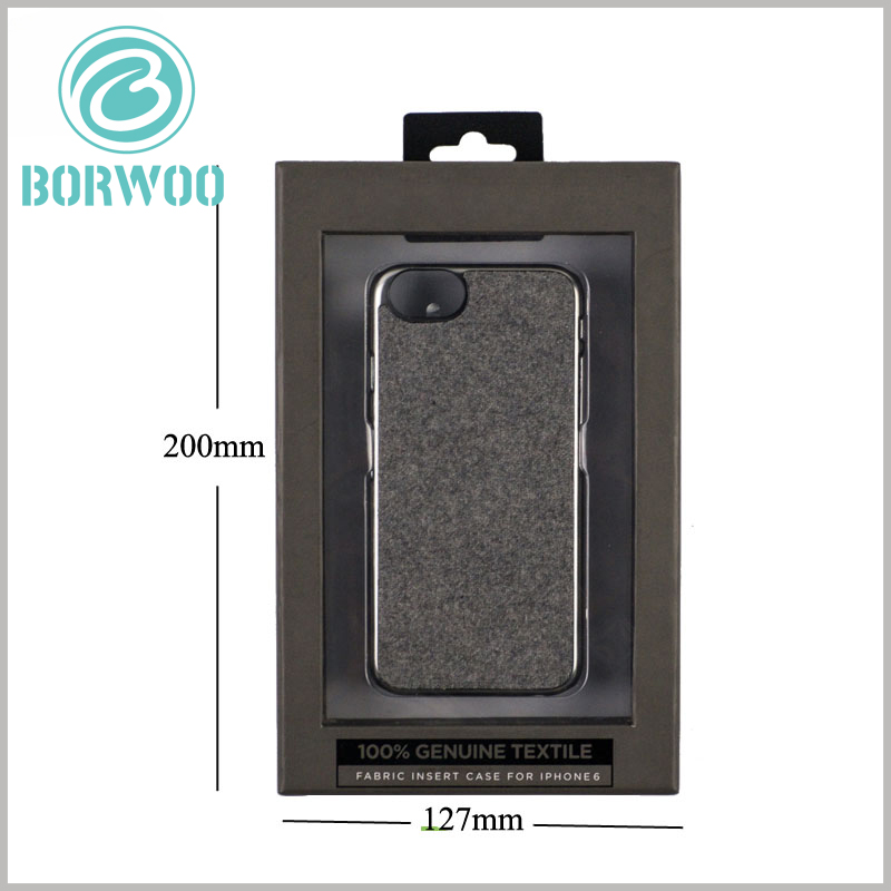 mobile phone case packaging with window wholesale. Window packaging is very necessary for the promotion of products, and has high visibility for the sealed products.
