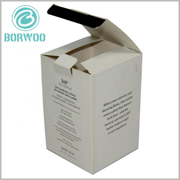 printable candle boxes packaging wholesale