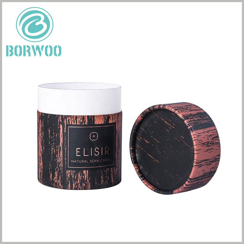 printed paper tube packaging boxes for candles. The size of the candle tube packaging is not fixed. You can customize the packaging size according to the structure and size of the scented candle. Please feel free to contact us.