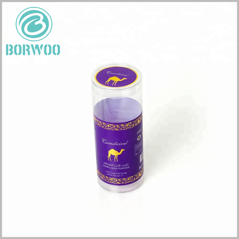 printed plastic tube packaging boxes custom. Some parts of the plastic tube packaging are completely transparent, which can meet the needs of customers peeking into the product and make it easier for customers to understand the product.