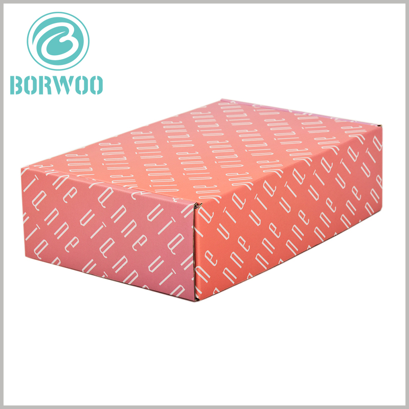 printed small corrugated packaging for makeup boxes. Cosmetic packaging design can have unique content to distinguish between products.